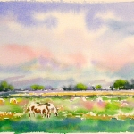 Spring, Watercolor Sketch